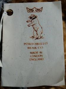 Portobello Bear Company - Early tag