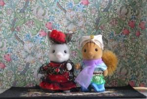 Sylvanian Families – Japanese Collection – International Costumes Series – Arabian & Spanish Set