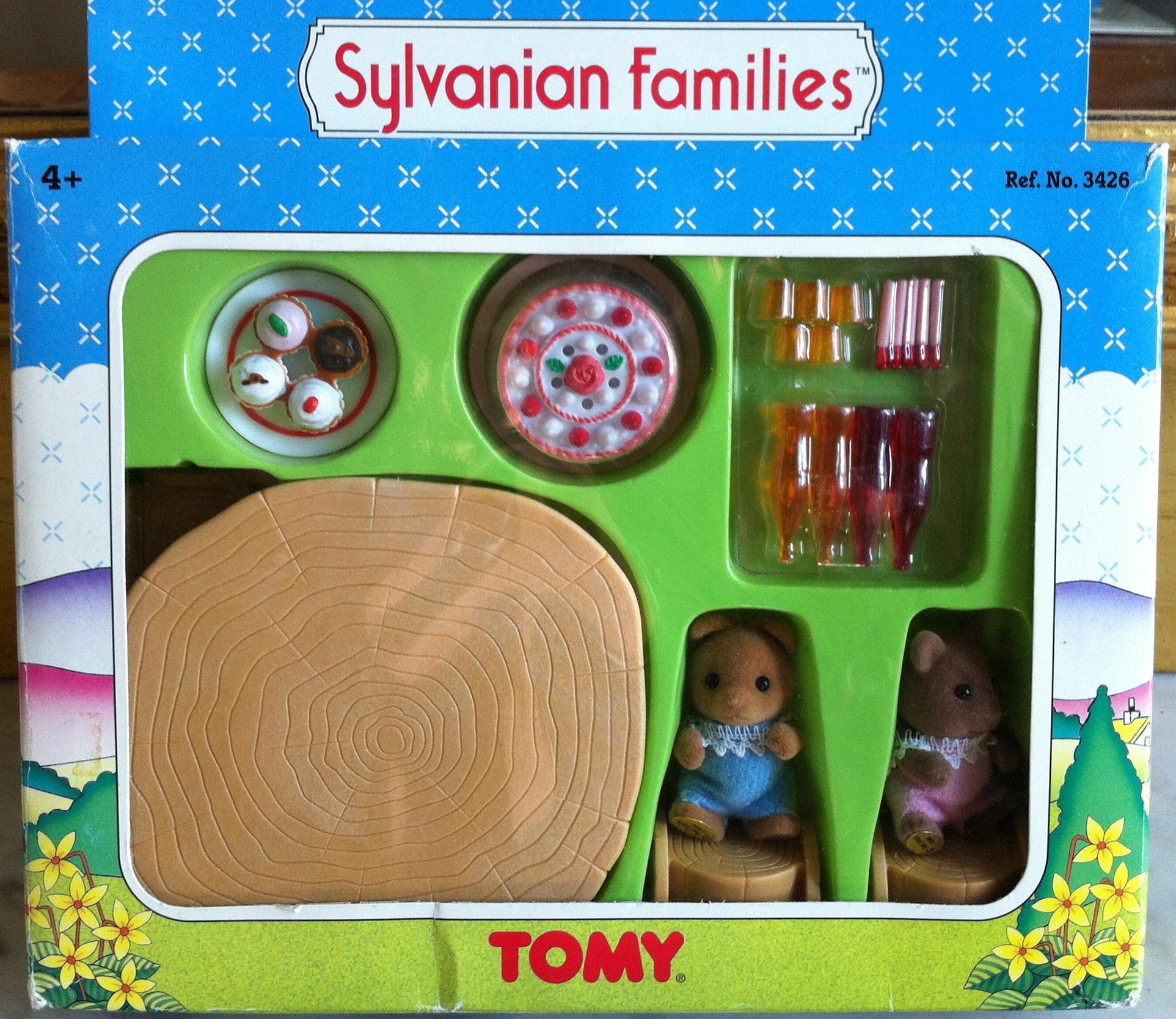 Teddy Bears Amp Friends Sylvanian Families Uk Baby