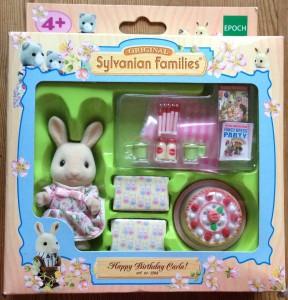 Sylvanian Families –EU Collection –Happy Birthday Carla Set – Rabbit Girl