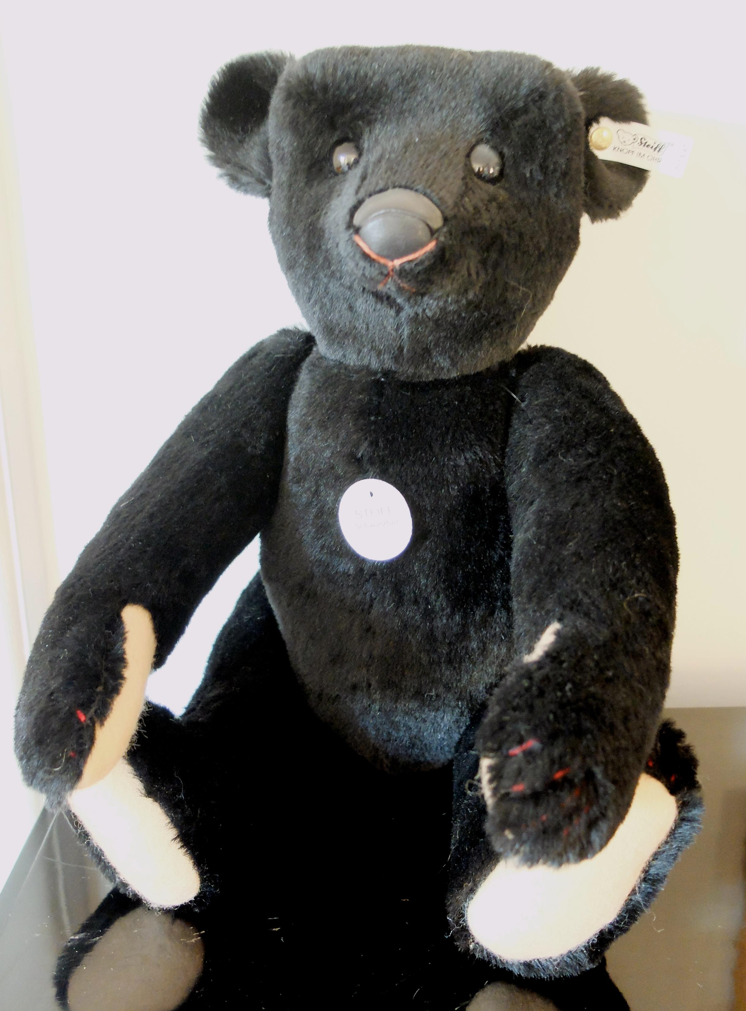 Teddy Bears Amp Friends Steiff Black Bear 1907 Teddy