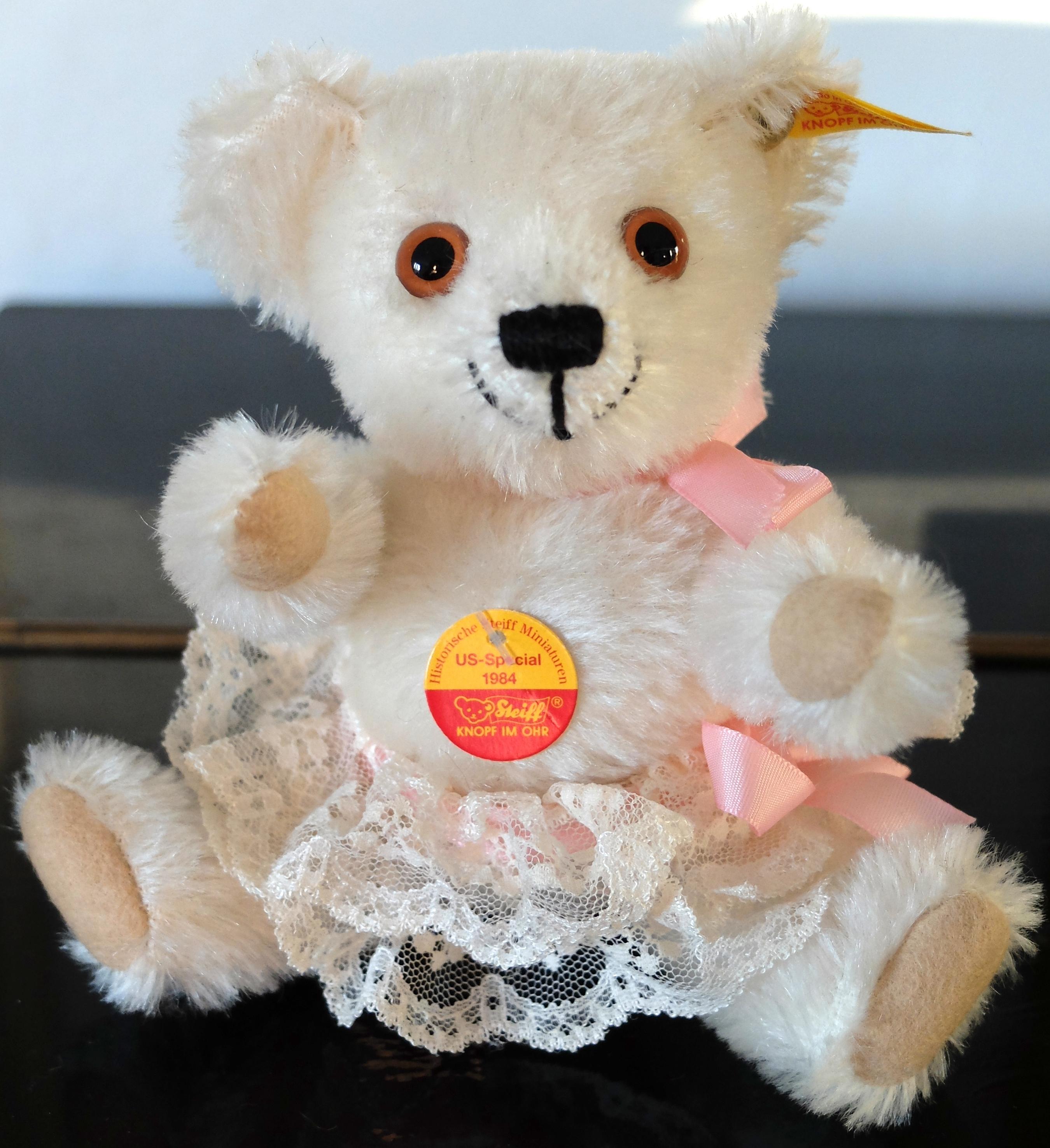 Teddy Bears Amp Friends Steiff Teddy Bear Miniature With
