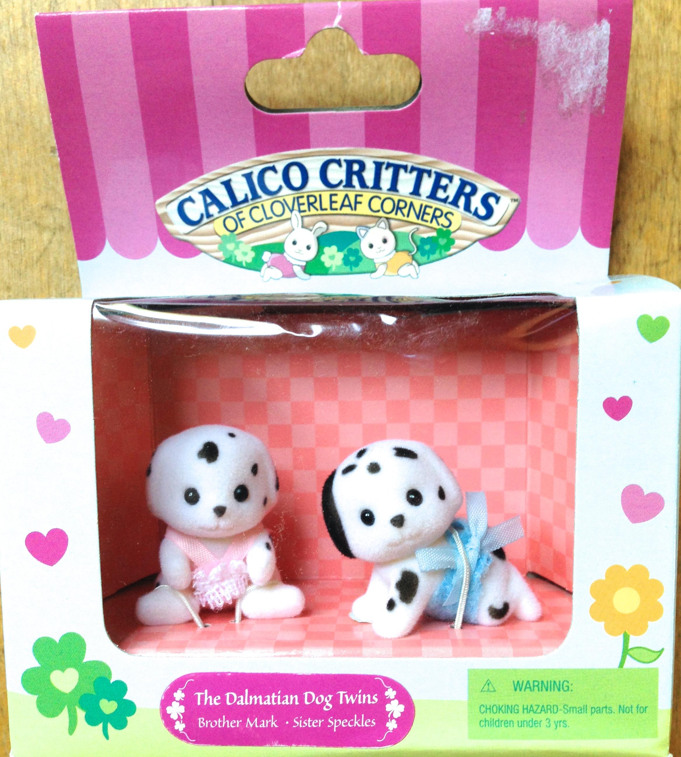 Teddy Bears Amp Friends Sylvanian Families Calico