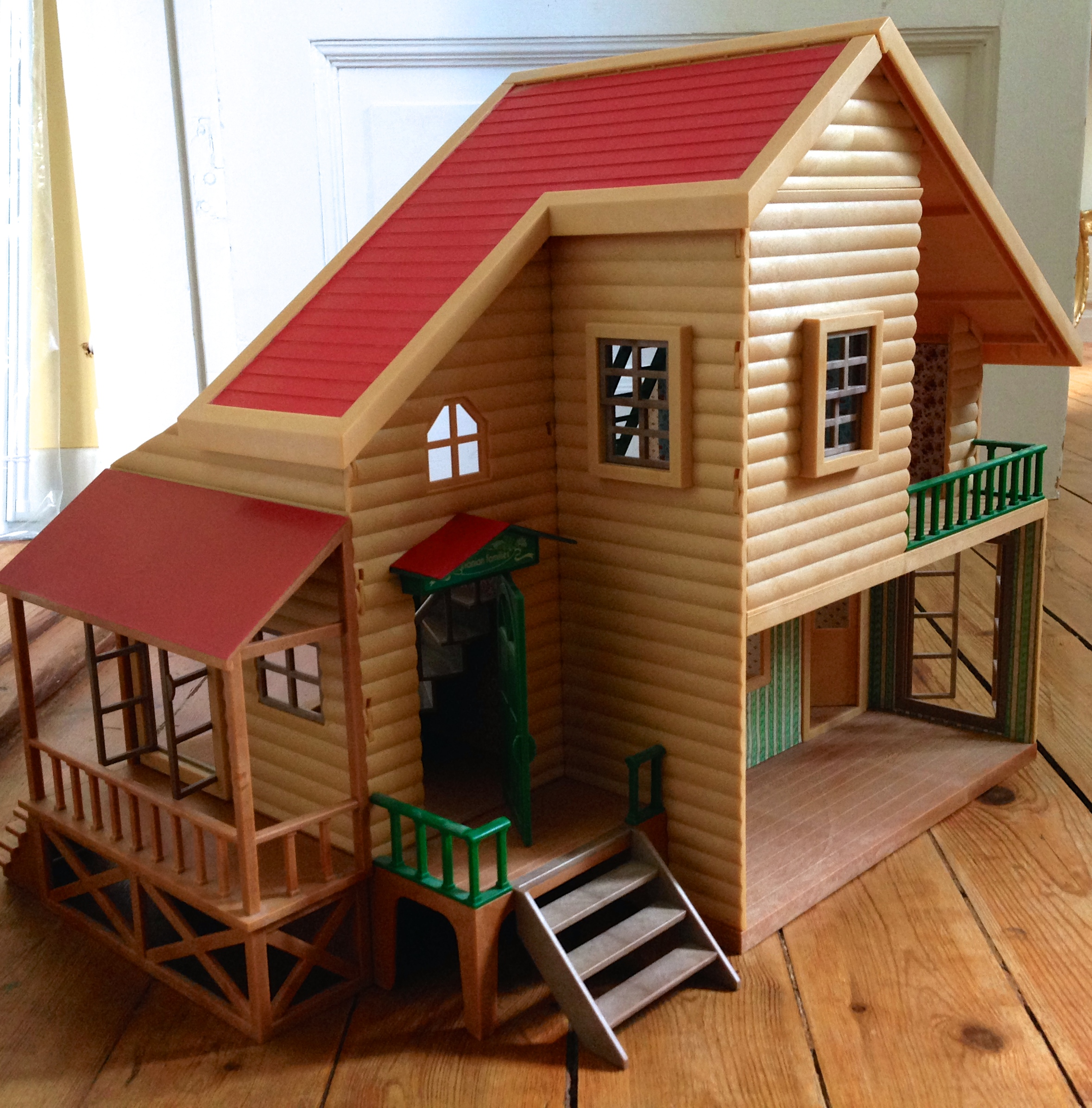 Teddy Bears Amp Friends Sylvanian Families Woodland Lodge