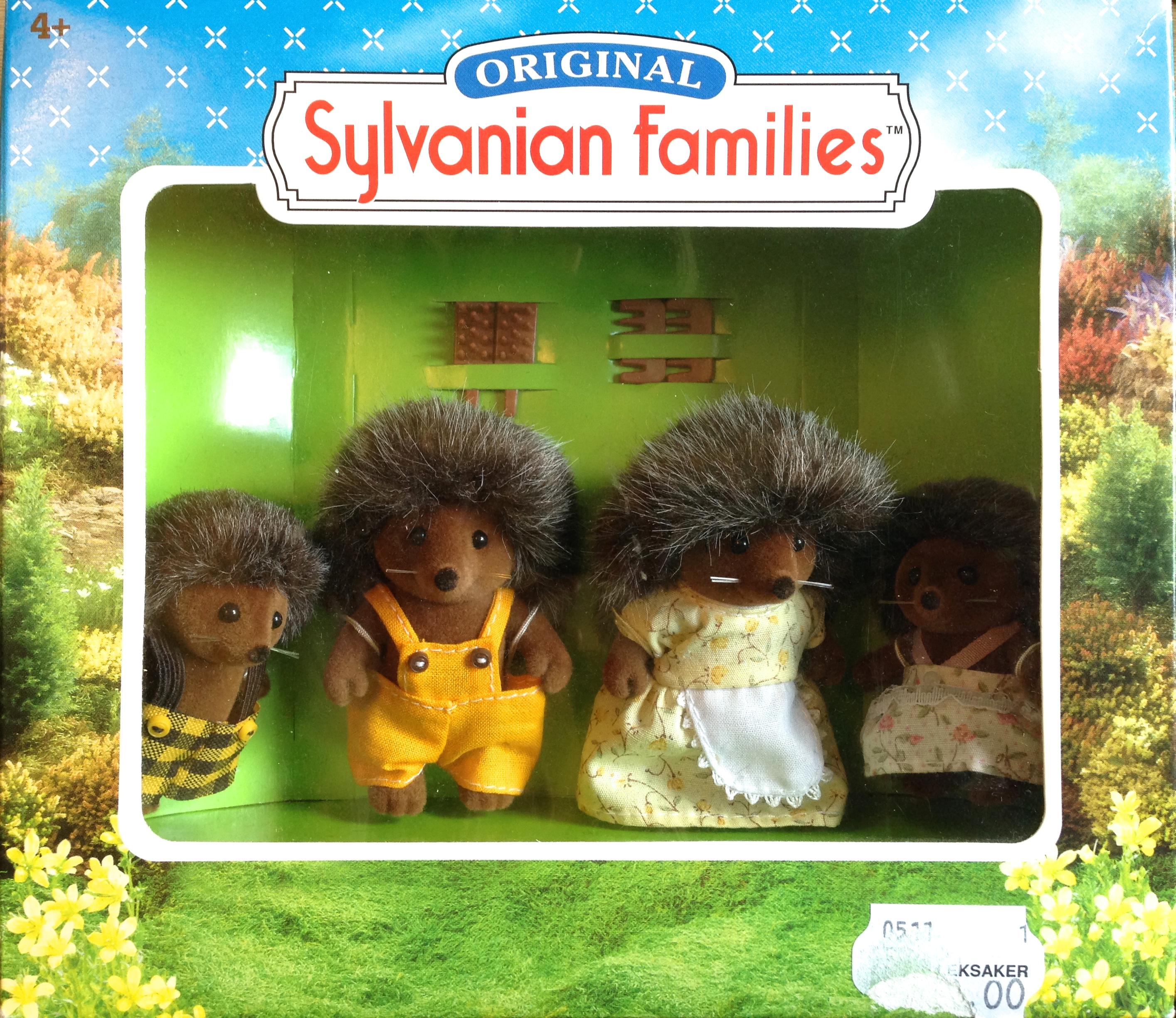 Teddy Bears Amp Friends Sylvanian Families Hedgehog Family