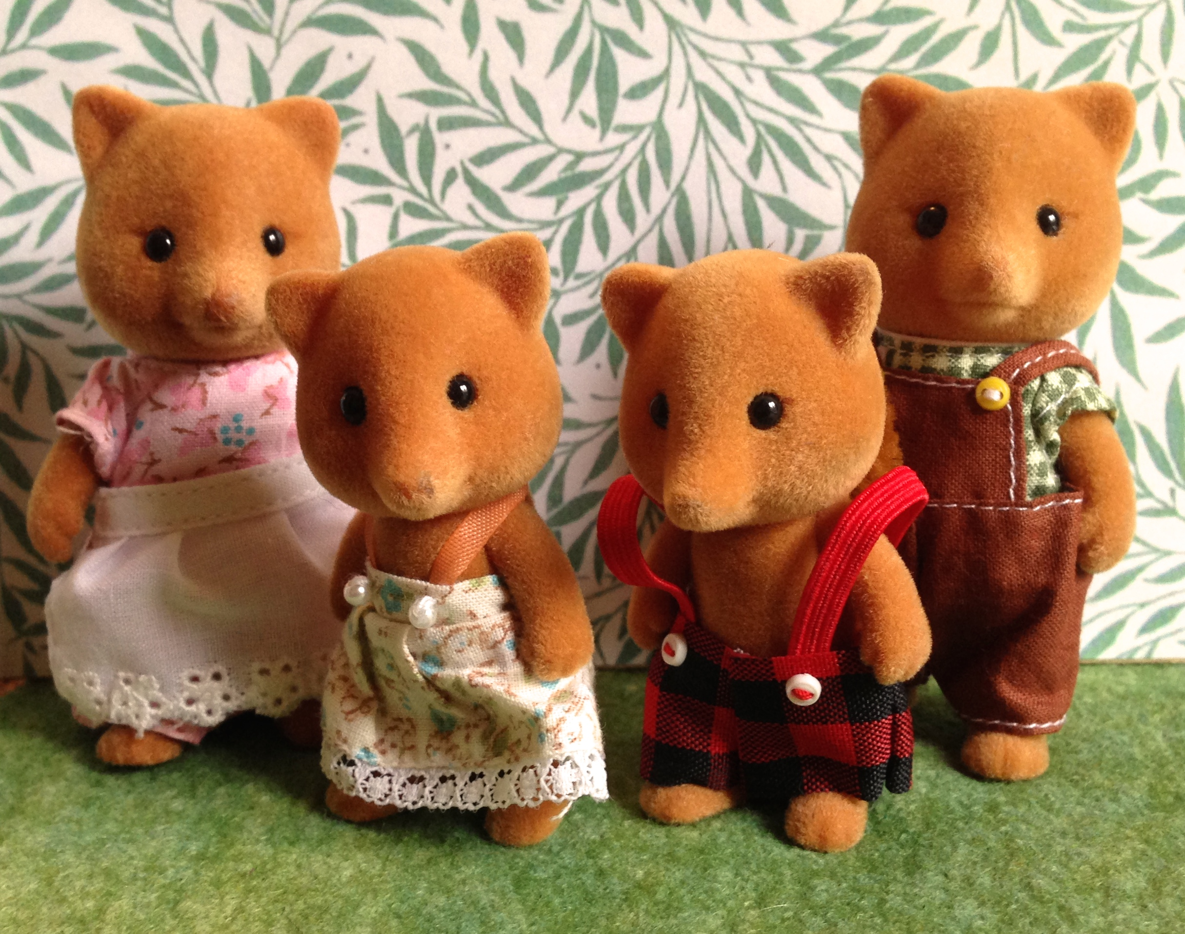 Teddy Bears Amp Friends Sylvanian Families Slydale Fox