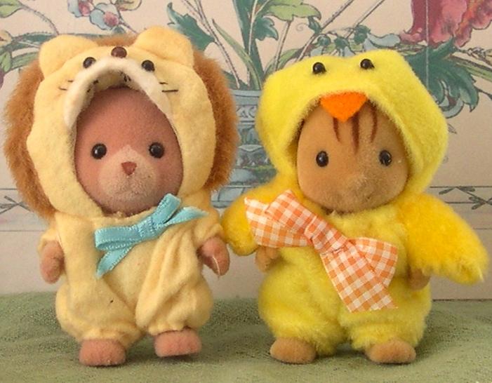 Teddy Bears Amp Friends Jp Sylvanian Families Lion And