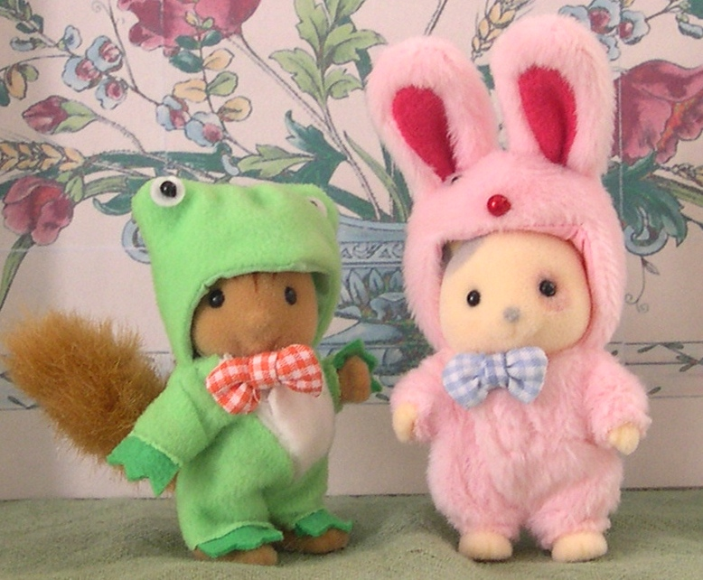 Teddy Bears Amp Friends Jp Sylvanian Families Frog And