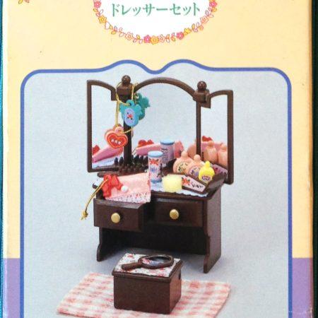 Teddy bears friends jp sylvanian families chiffon dog for Sylvanian families beauty salon dressing table