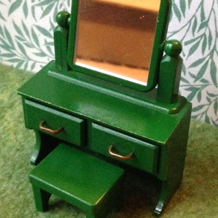 Teddy bears friends sylvanian families old fashioned radio for Sylvanian families beauty salon dressing table