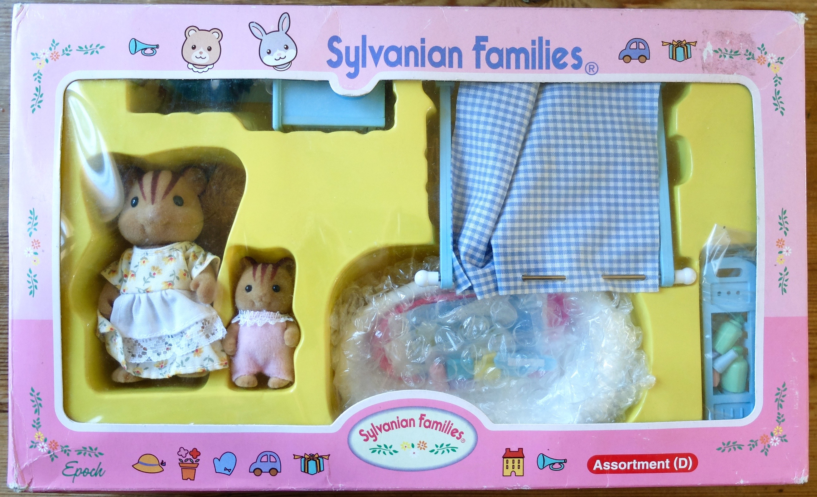 Teddy Bears & Friends | JP Sylvanian Families Furbanks Squirrel ...